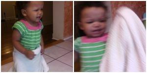Zoe crying