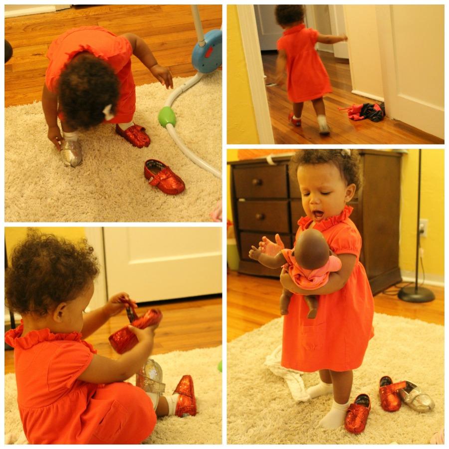 Zoe's shoe tantrum